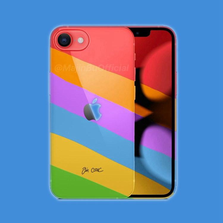 iPhone SE 3渲染图曝光:明年发布 配色有惊喜